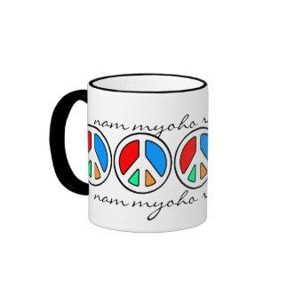 CHANT FOR PEACE... RINGER MUG