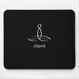Chant - White Fancy style Mouse Pad