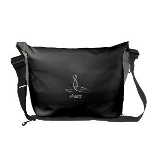 Chant - White Sanskrit style Commuter Bags
