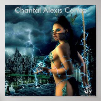 Chantal-17DEC08-015, Chantal Alexis Cortez Print