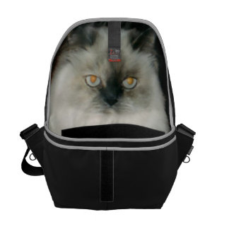 Chantal the Cat Messenger Bags