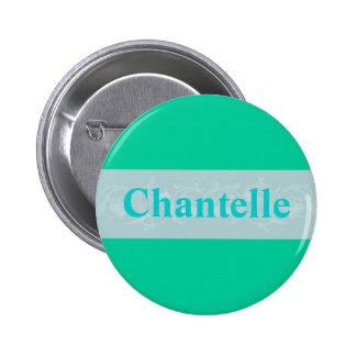 Chantelle Pin Redondo De 2 Pulgadas