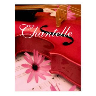 Chantelle Tarjeta Postal