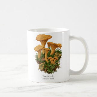 Chanterelle Mushroom Coffee Mug