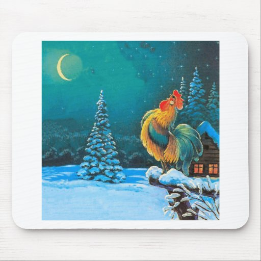 chanticleer mouse pad