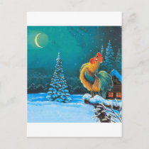 chanticleer postcard