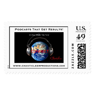 Chanticleer Production Podcasts Stamp