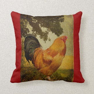 Chanticleer Rooster Pillow by Lois Bryan