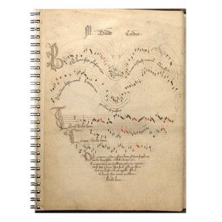 Chantilly Codex Spiral Notebook