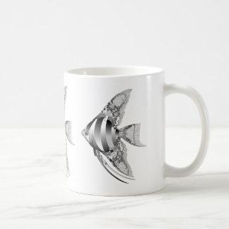Chantilly Lace Angel Fish Coffee Mug