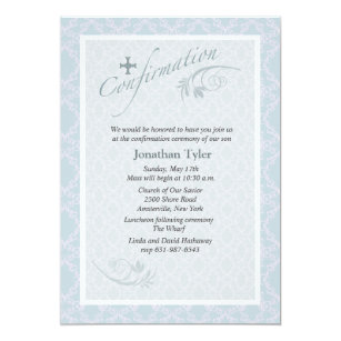 lutheran confirmation invitations zazzle