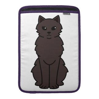 Chantilly-Tiffany Cat Cartoon MacBook Sleeves