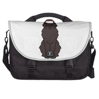 Chantilly-Tiffany Cat Cartoon Laptop Bag