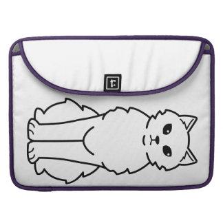 Chantilly-Tiffany Cat Cartoon Sleeve For MacBook Pro