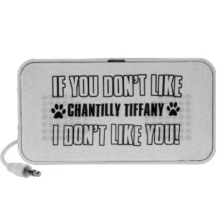 chantilly Tiffany cat design Notebook Speakers