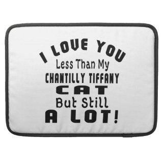 CHANTILLY TIFFANY FUNNY DESIGNS MacBook PRO SLEEVES
