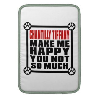 CHANTILLY TIFFANY MAKE ME HAPPY YOU NOT SO MUCH MacBook AIR SLEEVES