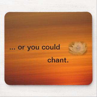 Chanting Reminder Mouse Mat - SGI Buddhist Mouse Pad