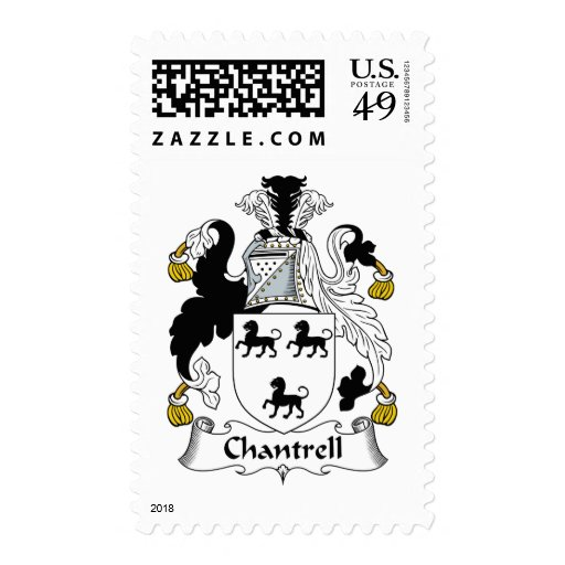 Chantrell Family Crest Stamps