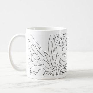 Chanukah Angel Classic White Coffee Mug