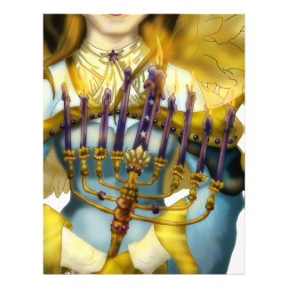 Chanukah Angel Letterhead