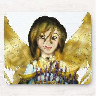Chanukah Angel Mouse Pad