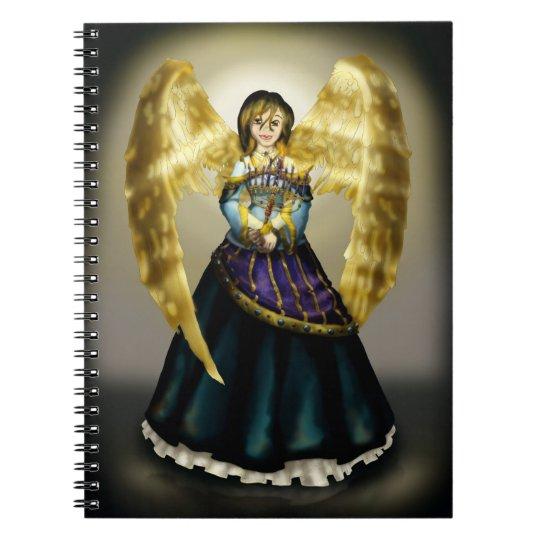 Chanukah Angel Notebook