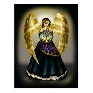 Chanukah Angel Postcard