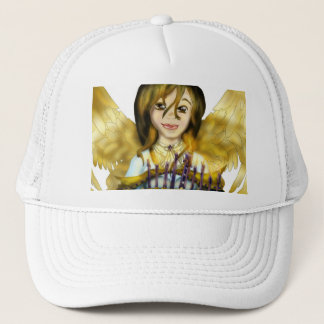 Chanukah Angel Trucker Hat