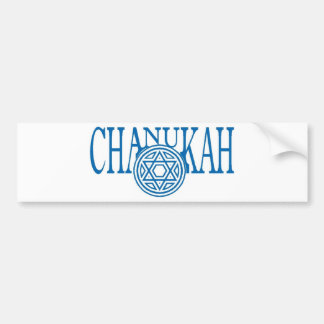 Chanukah Bumper Sticker