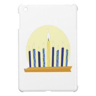 Chanukah Candles Cover For The iPad Mini