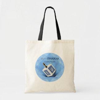 Chanukah Dreidel Budget Tote Bag