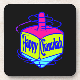 Chanukah Dreidel Drink Coaster