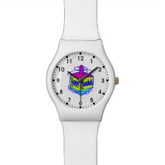 Chanukah Dreidel Relojes