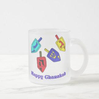 Chanukah Dreidels Mugs
