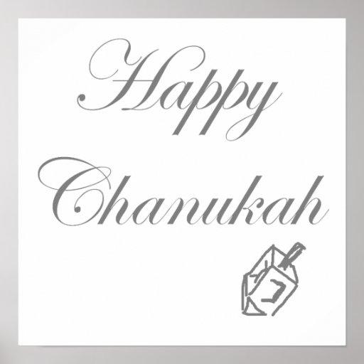 Chanukah feliz poster