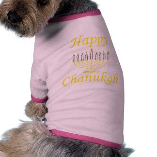 Chanukah feliz camisas de perritos