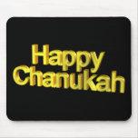 Chanukah feliz tapete de ratón