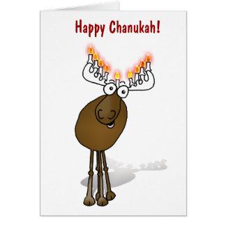 ¡Chanukah feliz! Tarjeta De Felicitación