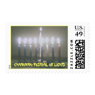 CHANUKAH: FESTIVAL OF LIGHTS STAMP