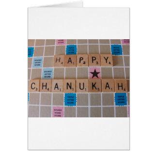 Chanukah Game Card