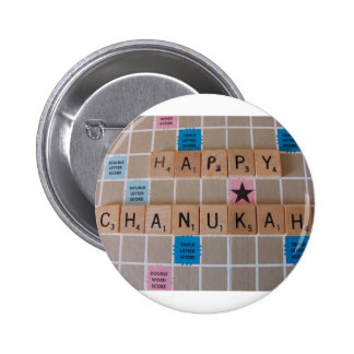 Chanukah Game Pinback Buttons