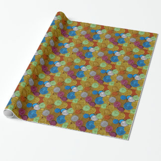 Chanukah Gelt Wrapping Paper