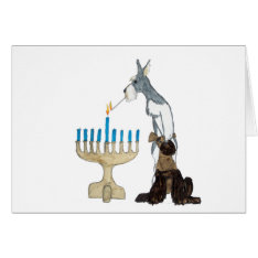 Chanukah ( Hanukkah ) Card at Zazzle