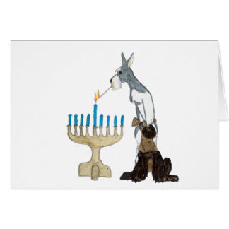 chanukah ( Hanukkah ) card