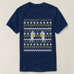 "Chanukah/Hanukkah Men's ""Ugly Sweater"" T-Shirt<br><div class=""desc"">Chanukah/Hanukkah Men"