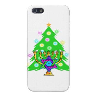 Chanukah Menorah Christmas Tree Cover For iPhone SE/5/5s