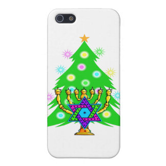 Chanukah Menorah Christmas Tree iPhone SE/5/5s Case