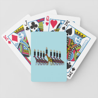 Chanukah Menorah Playing Cards
