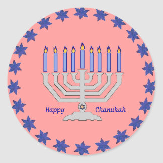 Chanukah menorah Sticker